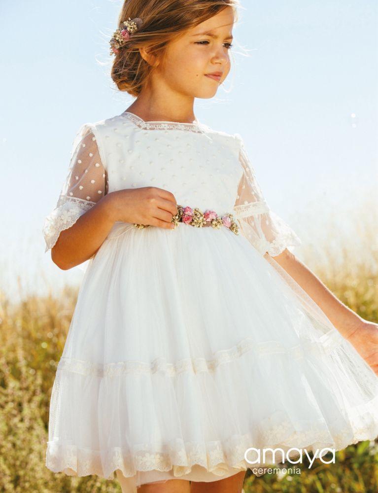 Vestit cermimònia nena
