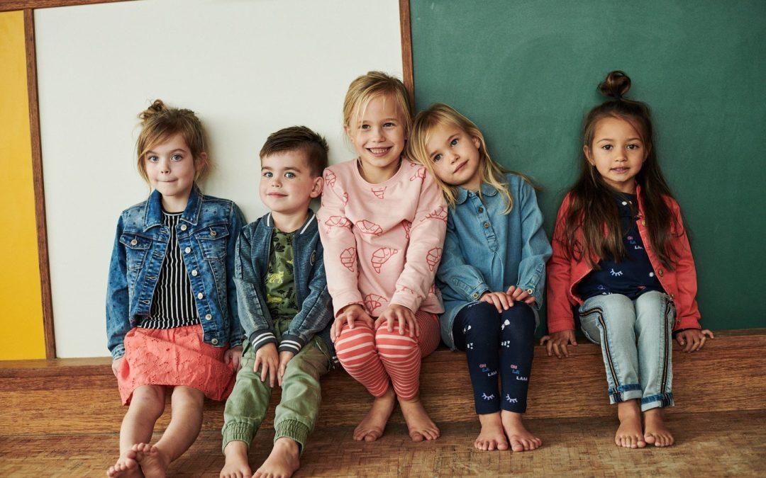 Roba per a nens i nenes. Moda casual infantil primavera-estiu 2020